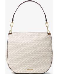 12da333b52c77 Michael Kors - Fulton Large Logo Shoulder Bag - Lyst