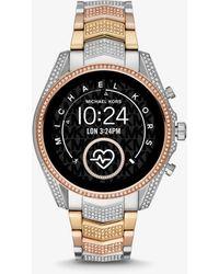 Michael Kors Gen 5 Bradshaw Pavé Tri-tone Smartwatch - Multicolor
