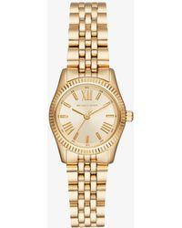 Michael Kors - Petite Lexington Gold-tone Watch - Lyst