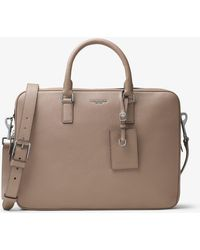 Michael Kors - Bryant Large Leather Briefcase - Lyst