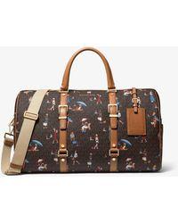 Michael Kors Bedford Travel Extra-large Jet Set Girls Weekender Bag - Brown