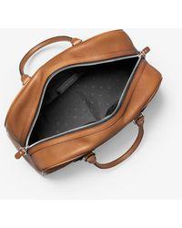 Michael Kors Mk Hudson Pebbled Leather Bag - Multicolour