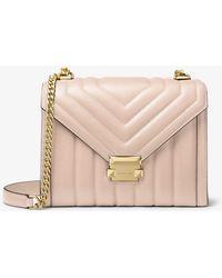Michael Kors Whitney Lg Shoulder Soft Pink