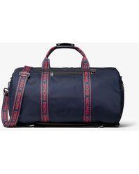 201e5d3f8cfc Michael Kors - Kent Logo Tape Nylon Convertible Duffel Bag - Lyst