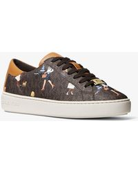 Michael Kors Keaton Jet Set Girls Sneaker - Brown