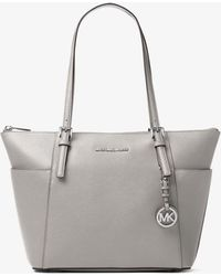 69cee361bd95 Michael Kors 'jet Set Travel' Saffiano Leather Top Zip Tote in ...