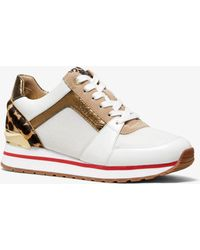 Michael Kors Sneaker Billie In Materiale Misto - Multicolore