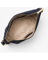 Michael Kors - Bedford Medium Leather Crossbody - Lyst