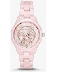 Michael Kors - Runway Ceramic Watch - Lyst