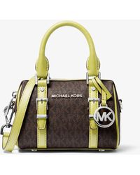 Michael Kors Umhängetasche Bedford Legacy Extra-Small Mit Logo - Mehrfarbig