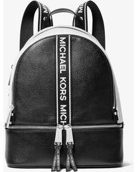 MICHAEL Michael Kors - Rucksack Rhea Medium mit Logostreifen - Lyst
