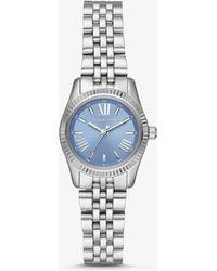 Michael Kors Petite Lexington Silver-tone Watch - Metallic