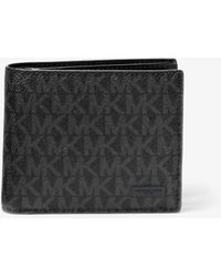 Michael Kors - Jet Set Logo Billfold Wallet - Lyst