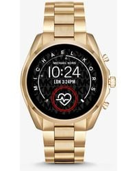 Michael Kors Gen 5 Bradshaw Rose Gold-Tone Smartwatch - Multicolore