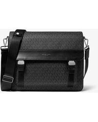 Michael Kors - Greyson Logo Messenger Bag - Lyst