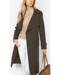 Michael Kors - Belted Trench Coat - Lyst