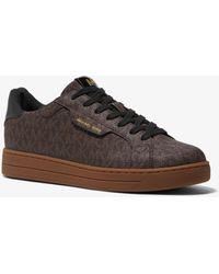 Michael Kors Keating Logo Sneaker - Brown