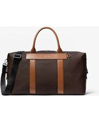 Michael Kors Greyson Logo Duffle Bag - Brown