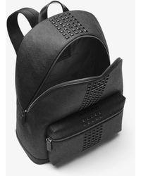 a08c5f694ab9 Michael Kors - Jet Set Studded Logo Backpack - Lyst