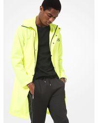 Michael Kors Neon Woven Anorak - Yellow