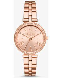 Michael Kors Reloj Maci en tono dorado rosa - Metálico