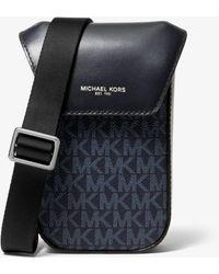 Michael Kors - Sac à bandoulière Greyson à logo pour smartphone - Lyst