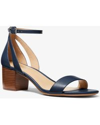 Michael Kors - Cardi Flex Leather Sandal - Lyst