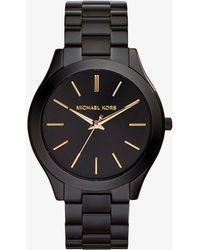 Michael Kors Slim Runway Women's Watch - Noir