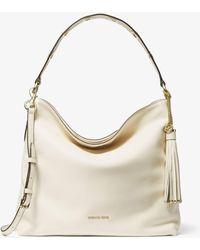 MICHAEL Michael Kors - Brooklyn Large Leather Shoulder Bag - Lyst
