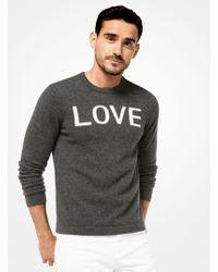 Michael Kors - Love Cashmere Pullover - Lyst