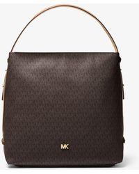 Michael Kors Griffin Large Logo Shoulder Bag - Multicolour