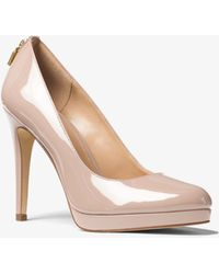 Pumps & High Heels for Women On Sale, Blush Pink, Patent Leather, 2017, 4.5 Michael Kors