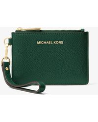 Michael Kors - Leather Coin Purse - Lyst