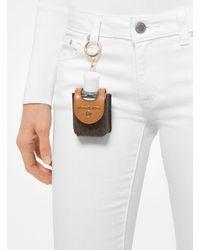 Michael Kors Small Logo Hand Sanitizer Carry Case - Multicolor