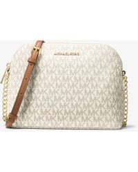 Michael Kors - Cindy Logo Crossbody - Lyst