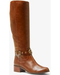 Michael Kors - Heather Leather Boot - Lyst