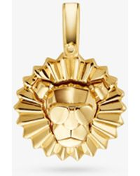 Michael Kors 14k Gold-plated Sterling Silver Rory Charm - Metallic