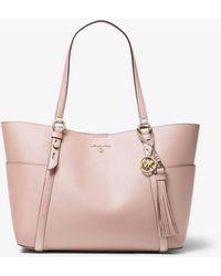 Michael Kors Nomad Large Saffiano Leather Tote Bag - Rose