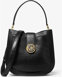 Michael Kors - Borsa A Spalla Lillie Media In Pelle - Lyst