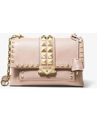 MICHAEL Michael Kors Cece Medium Chain Convertible Shoulder Bag - Pink
