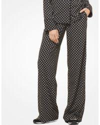 Michael Kors - Studded Medallion Pajama Pants - Lyst