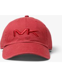 Michael Kors - Logo Cotton Baseball Hat - Lyst 46872b218859