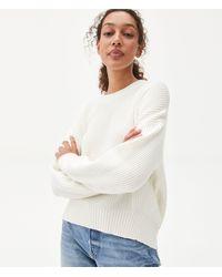 Michael Stars Richie Pullover Sweater - White
