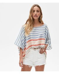 Michael Stars Mckenzie Cropped Cover Up - Multicolor