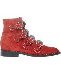 Givenchy Elegant Boots - Red