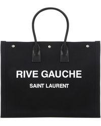 Saint Laurent - Rive Gauche Totebag - Lyst