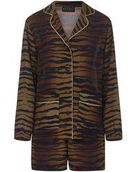 Dundas Pyjamas - Brown