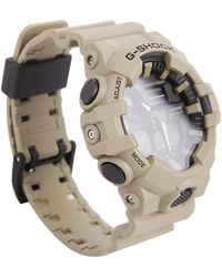 G-Shock Beige Chronograph Datari Watch Water And Shock Resistant - Multicolour