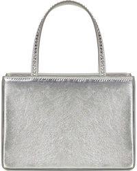 AMINA MUADDI Amini Gilda Handbag - Metallic