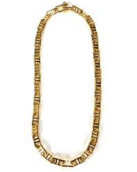 Ambush Monogram Necklace - Metallic